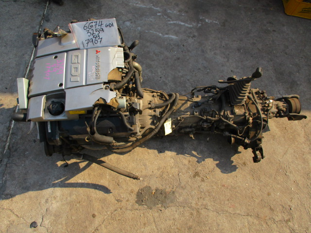 Used Mitsubishi  ENGINE