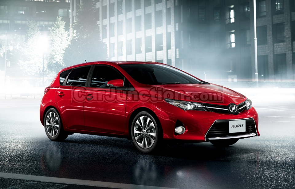 New Look of Toyota Auris