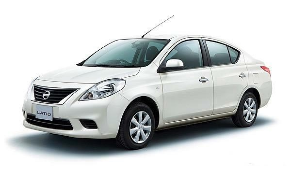 New Look of Nissan Tiida