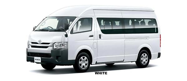 Toyota Hiace Commuter 2018 in White