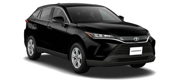 Toyota Harrier 2019 in Black