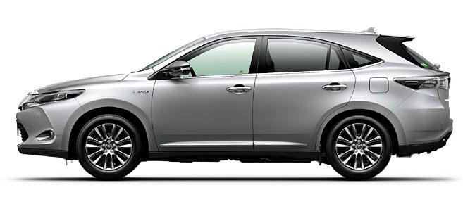 Toyota Harrier 2018 in Silver Metallic