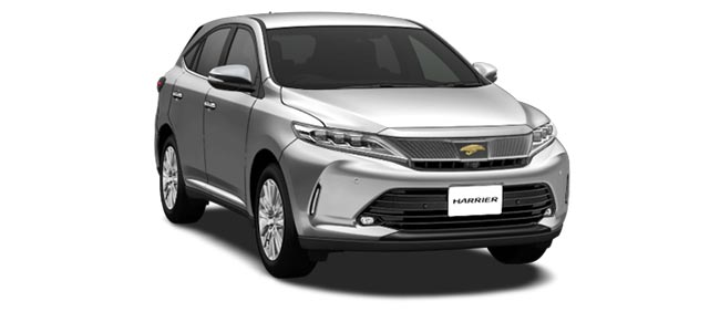 Toyota Harrier 2019 in Silver Metallic