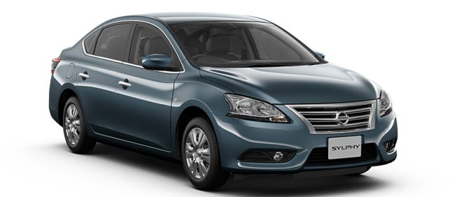 Nissan Bluebird Sylphy 2019 in Steel Blue