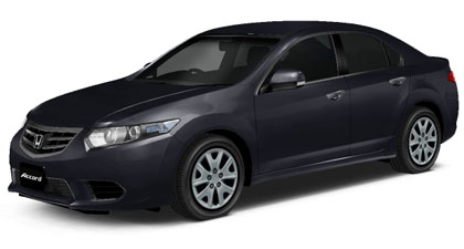 Honda Accord 2018 in Graphite Luster Metallic