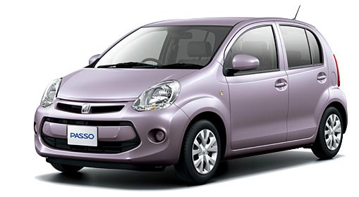 Toyota Passo 2018 in Violet Metallic Opal