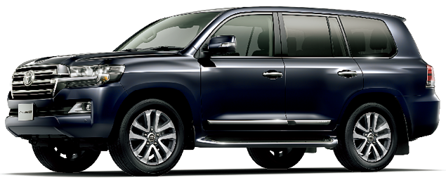 Toyota Land Cruiser 2018 in Attitude Black Mica