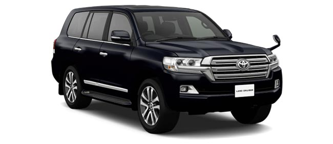 Toyota Land Cruiser 2019 in Attitude Black Mica