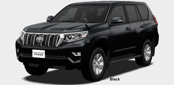 Toyota Land Cruiser Prado 2018 in Black