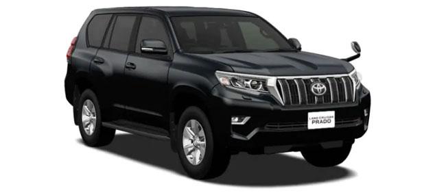 Toyota Land Cruiser Prado 2019 in Black