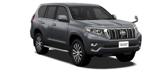 Toyota Land Cruiser Prado 2018 in Gray Metallic