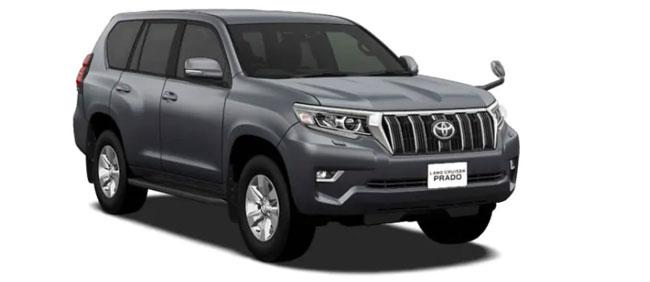 Toyota Land Cruiser Prado 2021 in Gray Metallic