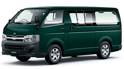 Toyota Hiace Minibus Specifications Toyota Hiace 2017