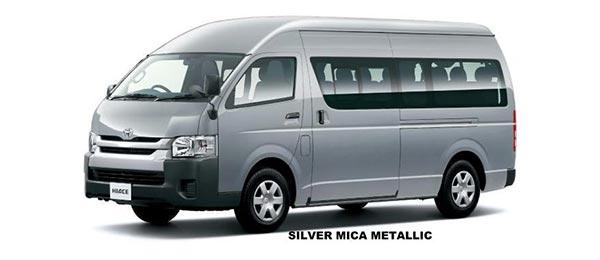 Toyota Hiace Commuter 2018 in Silver Mica Metallic