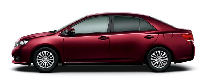 Toyota Allion 2019 in Brassens Quiche Red Mica