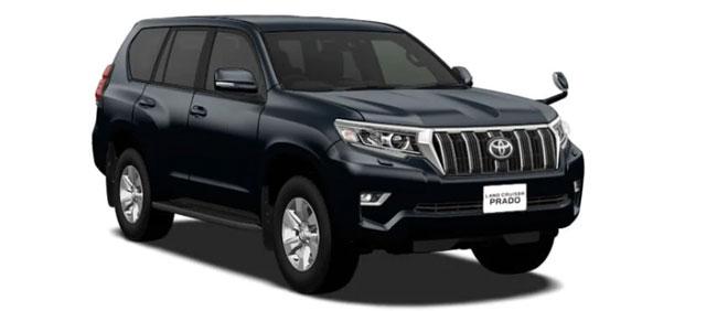 Toyota Land Cruiser Prado 2018 in Attitude Black Mica