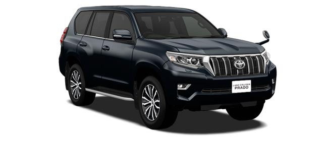 Toyota Land Cruiser Prado 2020 in Attitude Black Mica