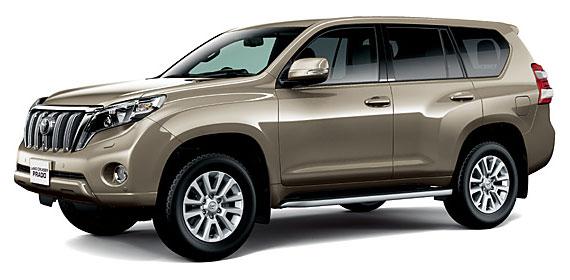 Toyota Land Cruiser Prado 2018 in Bronze Mica Metallic