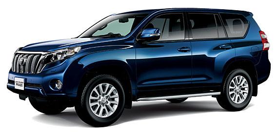 Toyota Land Cruiser Prado 2018 in Dark Blue Mica