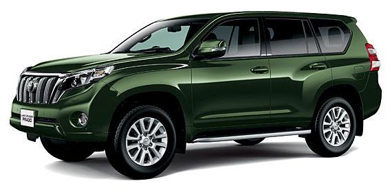Toyota Land Cruiser Prado 2018 in Dark Green Mica