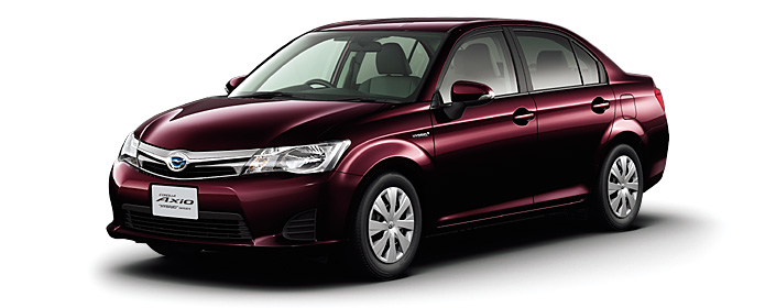 Toyota Corolla Axio 2019 in Blackish Red Mica