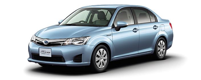 Toyota Corolla Axio 2018 in Light Blue Metallic