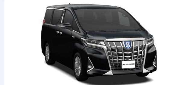 Toyota Alphard 2019 in Black