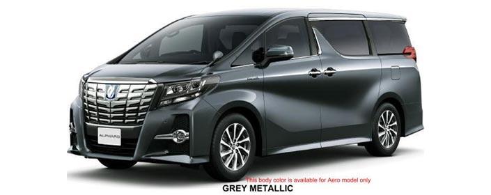 Toyota Alphard 2019 in Gray Metallic