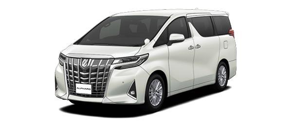 Toyota Alphard 2018 in White Pearl Crystal Shine