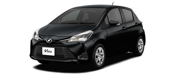 Toyota Vitz 2018 in Black Mica