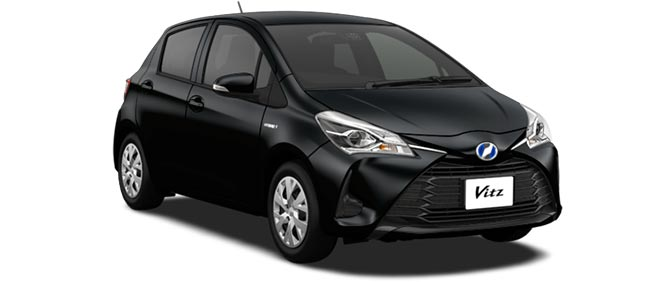 Toyota Vitz 2019 in Black Mica