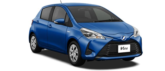 Toyota Vitz 2019 in Blue Metallic