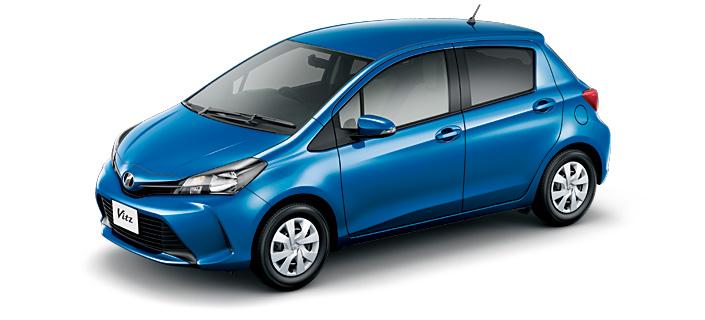 Toyota Vitz 2018 in Blue Metallic