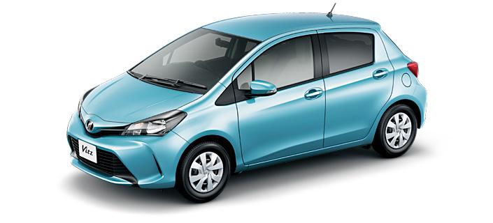 Toyota Vitz 2018 in Cool Soda Metallic