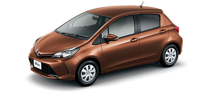 Toyota Vitz 2018 in Dark Brown Mica Metallic