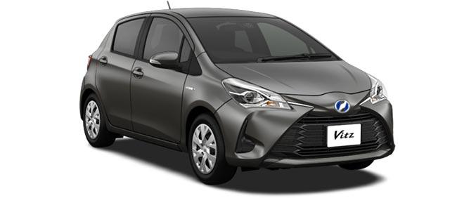 Toyota Vitz 2018 in Gray Metallic