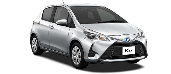 Toyota Vitz 2019 in Silver Metallic