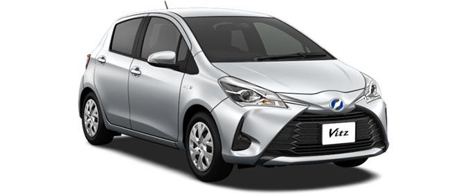 Toyota Vitz 2018 in Silver Metallic