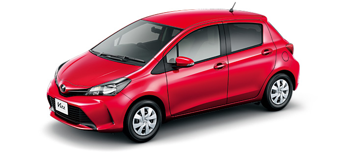 Toyota Vitz 2019 in Super Red