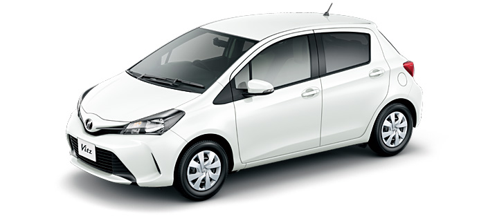 Toyota Vitz 2019 in Super White