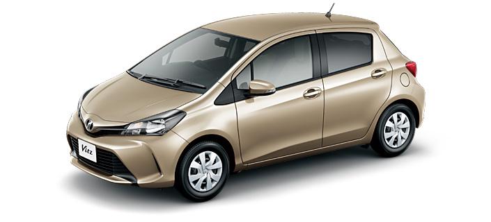 Toyota Vitz 2018 in Beige Metallic