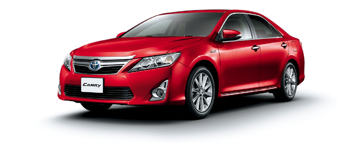 Toyota Camry 2018 in Red Mica Metallic