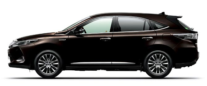 Toyota Harrier 2018 in Dark Brown Metallic