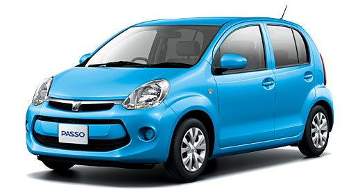 Toyota Passo 2019 in Blue Mica Metallic