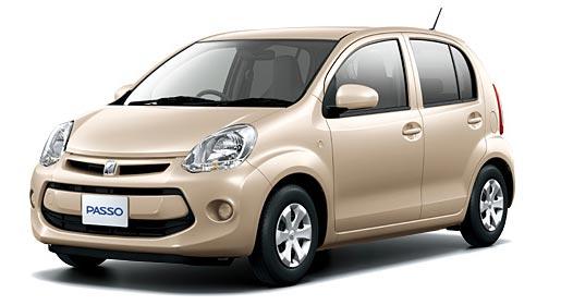 Toyota Passo 2018 in Light beige
