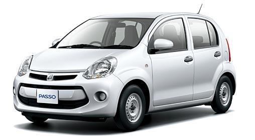 Toyota Passo 2018 in Snow White