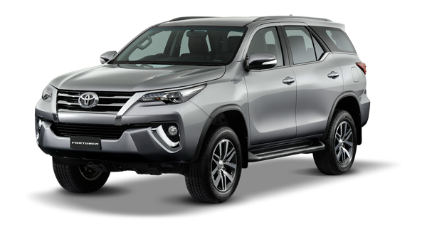 Toyota Fortuner 2018 in Silver Metallic
