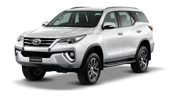Toyota Fortuner 2018 in Super White