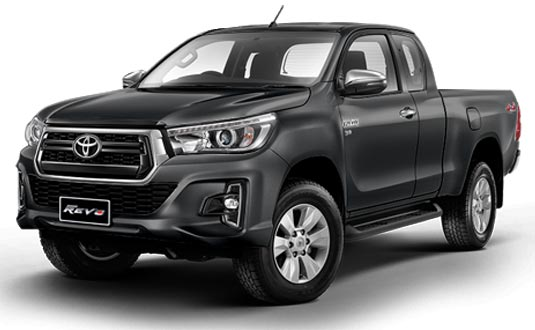 Toyota Hilux Revo Smart Cab 2018 in Dark Grey Metallic
