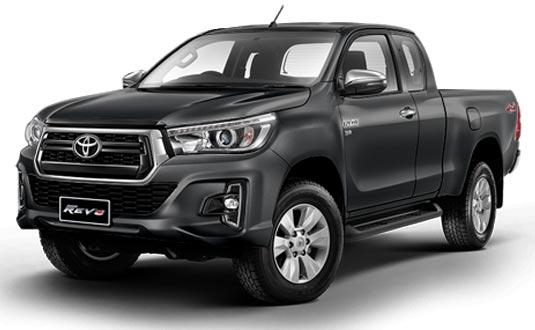 Toyota Hilux Revo Smart Cab 2019 in Dark Grey Metallic